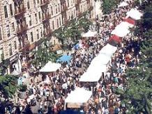 Harlem Book Fair 2013 - aerial view