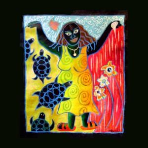 Fear Not!, acryllic on canvas, July 2005