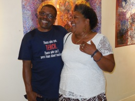 Larry Jones with Caryl Henry