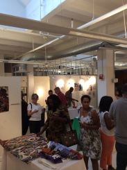 Opening night, 3 Artists: 1 Venue