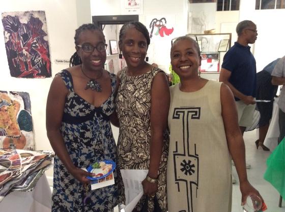 Celeste, Linda, and Karen James