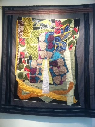 Oranmiyan Festival Iconography An Obelisk, batik quilt