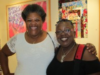 Caryl Henry with G. Yvonne Harris