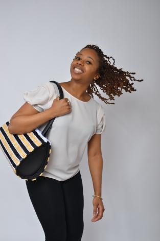 "Morenike ""duffel"" bag ~ Photo by Timothy Yorro"
