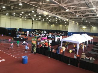 Prince George's County 2017 Spring Book Festival at the Wayne Curry Sports & Learning Complex in Landover, Maryland