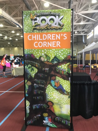 Children's Corner at Prince George's County 2017 Spring Book Festival at the Wayne Curry Sports & Learning Complex in Landover, Maryland